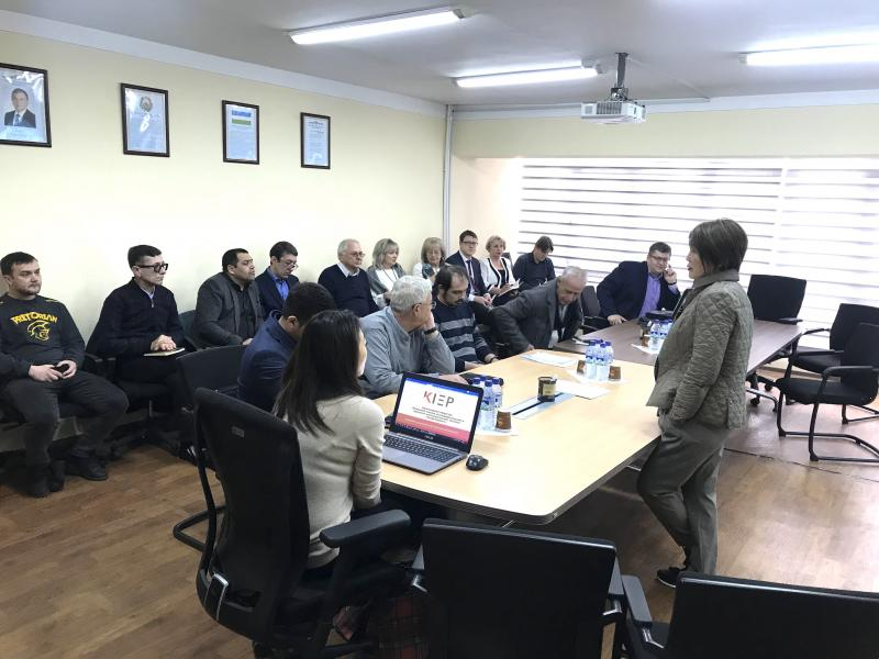 ADVISORY BOARD IN THE REPUBLIC OF UZBEKISTAN ON EXCHANGE OF EXPERIENCE AT KIEP IN ARRANGING AND CONDUCTING PUBLIC HEARINGS REGARDING NPP CONSTRUCTION