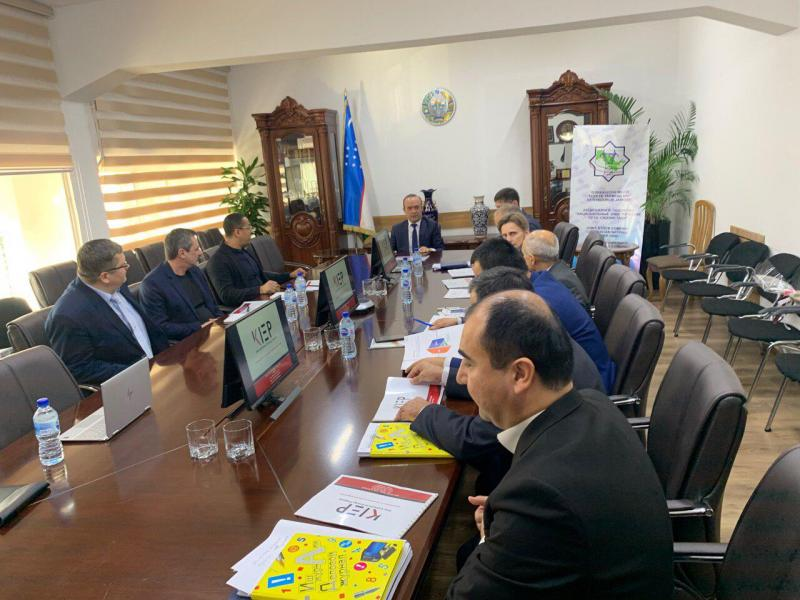 "WORKING MEETING BETWEEN JSC KIEP AND JSC ""NATIONAL ELECTRIC NETWORKS OF UZBEKISTAN"""